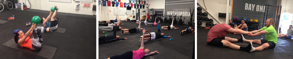 crossfit northumbria pilates training